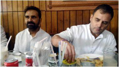 पटना: कोर्ट में पेशी के बाद राहुल गांधी ने रेस्टोरेंट में उठाया डोसा का लुत्फ, लोगों के साथ खिंचाई तस्वीरें