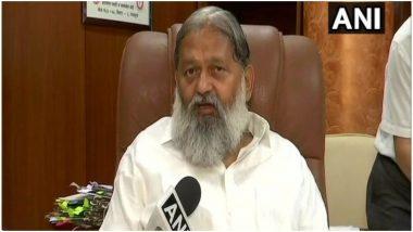 IND vs NZ: हरियाणा के मंत्री अनिल विज ने कहा- भारत के मैच हार जाने पर कश्मीर में हुई आतिशबाजी, बंद कर देनी चाहिए सारी सुविधाएं, भूखे मरेंगे तो...