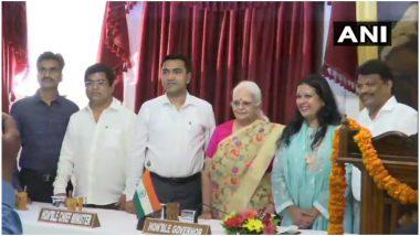गोवा कैबिनेट में बड़ा फेरबदल, कांग्रेस के 3 बागी और पूर्व डिप्टी स्पीकर माइकल लोबो ने ली मंत्री पद की शपथ