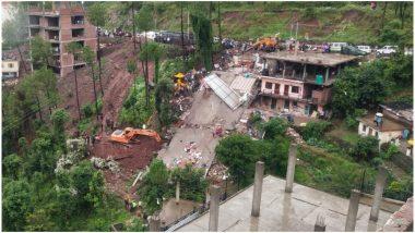 हिमाचल प्रदेश के सोलन में बड़ा हादसा, इमारत ढहने से सेना के जवान सहित कई लोग मलबे में फंसे, 2 की मौत