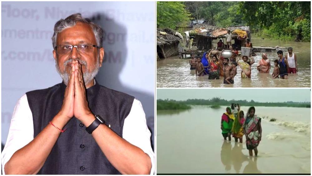 बिहार के डिप्टी सीएम सुशील मोदी के Super 30 फिल्म देखने पर बवाल, विपक्ष ने कहा- बाढ़ पर सरकार सीरियस नहीं