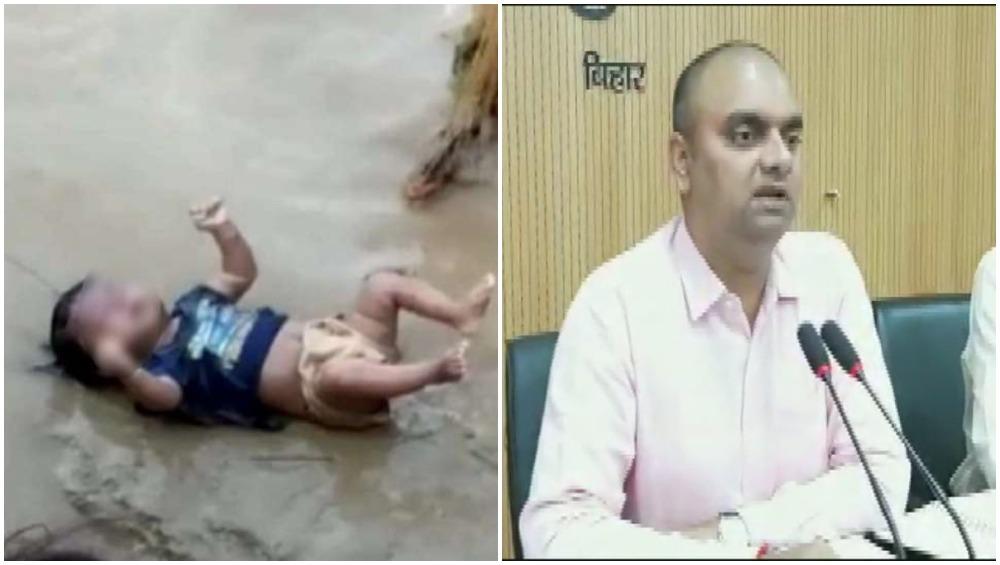 बिहार: वायरल हुई थी 3 महीने के बच्चे के शव की तस्वीर, मुजफ्फरपुर DM ने बताई सच्चाई