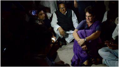 सोनभद्र नरसंहार: प्रियंका गांधी ने कहा- जमानत नहीं लूंगी, जेल जाने को तैयार हूं