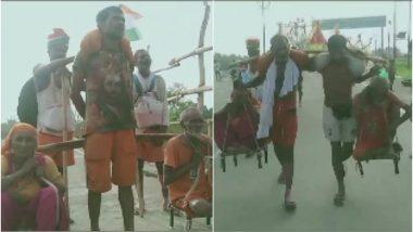 पानीपत के ये चार भाई हैं कलयुग के 'श्रवण कुमार', माता-पिता को कांवड़ में बैठाकर हरिद्वार से लाए गंगाजल