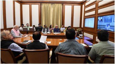 पीएम मोदी ने की अपने दूसरे कार्यकाल की पहली PRAGATI मीटिंग, साल 2022 तक 'सबके लिए घर' का संकल्प दोहराया