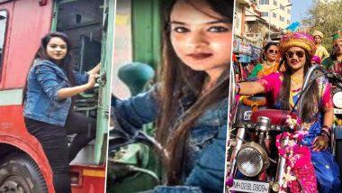 मुंबई: BEST की पहली महिला बस ड्राइवर, किसी मॉडल से नहीं हैं कम, डिग्री जानकर हो जाएंगे हैरान, देखें वायरल तस्वीरें
