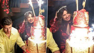 देसी गर्ल प्रियंका चोपड़ा ने रेड हॉट ड्रेस के साथ सिंदूर पहनकर मनाया जन्मदिन, देखें फोटोज