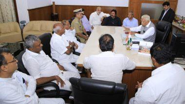 कर्नाटक सियासी संकट: बागी विधायकों ने फिर लिखा मुंबई पुलिस को पत्र, कहा- कांग्रेस के नेताओं से हमें है खतरा