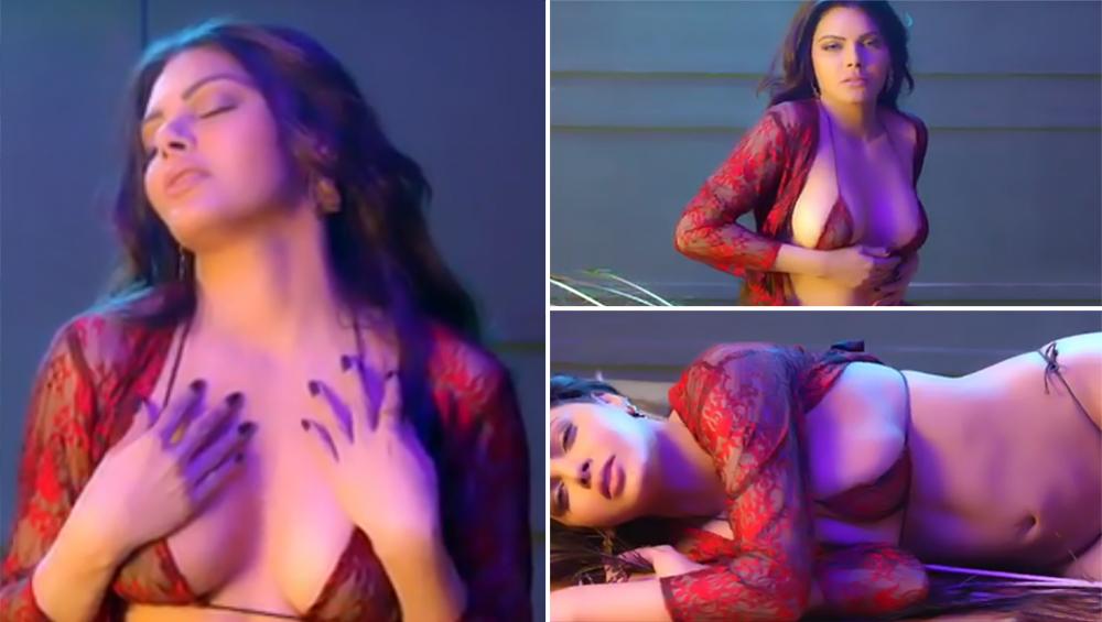 शर्लिन चोपड़ा ने रेडब्रा में पोस्टकिया सेमी-न्यूड वीडियो,दिखाया सेक्सी अवतार
