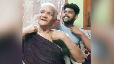 Tik Tok पर दादी और पोते ने मचाई धूम, सोशल मीडिया पर वीडियो हुआ वायरल