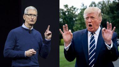 एप्पल को अमेरिकी राष्ट्रपति डोनाल्ड ट्रंप की चेतावनी, कहा- मैक प्रो के पार्ट्स चीन में बनाए तो आयात शुल्क में छूट नहीं