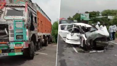 उन्नाव रेप केस: ड्राइवर ने कहा- बारिश की वजह से फिसला ट्रक