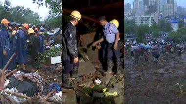 महाराष्ट्र: मुंबई-पुणे में बारिश का कहर, 3 जगह दीवार गिरने की घटनाओं में 21 लोगों की मौत,  सीएम फडणवीस ने किया मुआवजे का ऐलान
