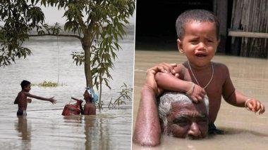 बारिश का कहर: बिहार में बाढ़ से 130 लोगों की मौत, 88.46 लाख आबादी हुई प्रभावित, असम में घट रहा जलस्तर