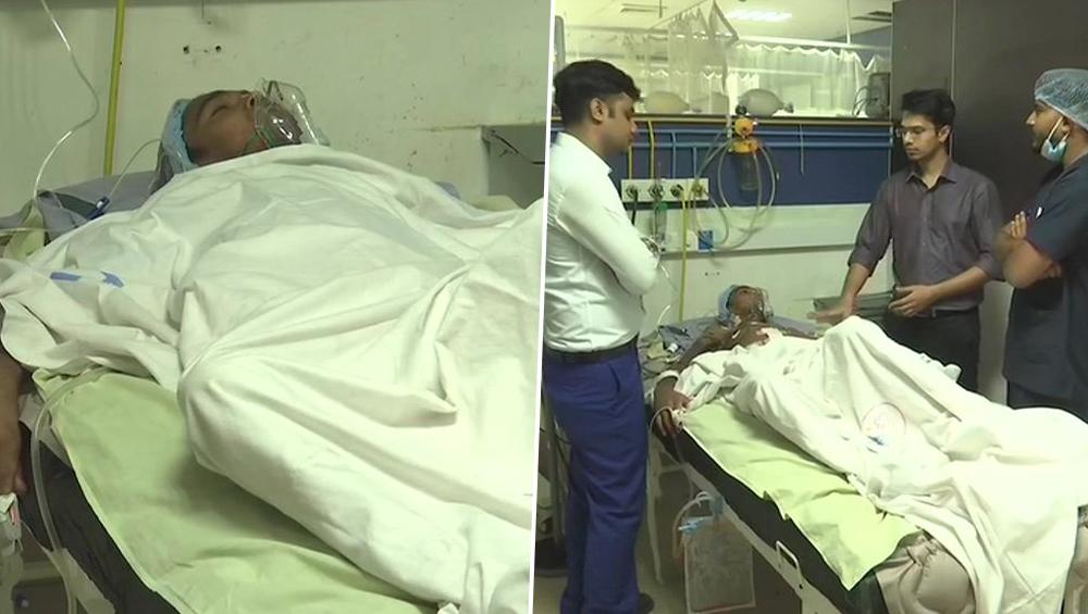 अहमदाबाद: डॉक्टर्स ने मरीज के शरीर से ऑपरेशन कर निकाले स्पार्क प्लग से लेकर स्प्रिंग तक 3.5 किलो मेटल के सामान