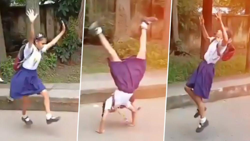 वीडियो में स्कूल के बच्चों ने किया हैरतअंगेज कारनामा, ट्विटर पर लोगों ने कहा- 'कोई इन्हें ओलंपिक्स भेजो', देखें Viral Video