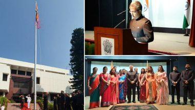पाकिस्तान में भी मनाया गया भारत की आजादी का जश्न, देखें तस्वीरें