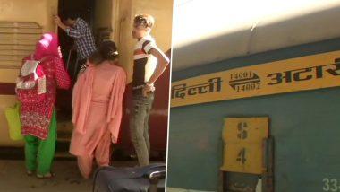 76 भारतीय, 41 पाकिस्तानी नागरिकों को लेकर दिल्ली पहुंची समझौता एक्सप्रेस, अटारी में फंसे थे यात्री