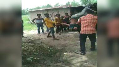 उत्तराखंड: हरिद्वार में मोबाइल चोरी के आरोप में युवक को उल्टा लटका कर लाठी-डंडों से बेरहमी से पीटा