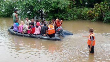 महाराष्ट्र के सांगली में बड़ा हादसा- बाढ़ में फंसे लोगों को बचा रही नाव पलटी, 9 की मौत व कई लापता