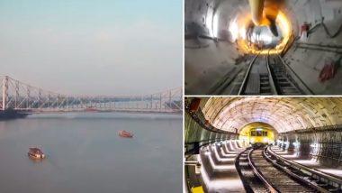 कोलकाता में पहली बार पानी के अंदर दौड़ेगी मेट्रो, रेलमंत्री पीयूष गोयल ने शेयर किया VIDEO