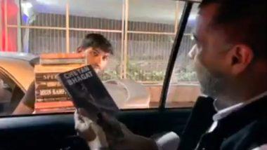 चेतन भगत ने किताब बेचने वाले से खरीदी अपनी ही नॉवेल, वीडियो हुआ वायरल