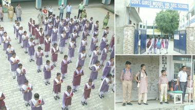 अनुच्छेद 370 हटने के बाद जम्मू-कश्मीर से चलने लगी है अमन की बयार, फिर खुले स्कूल- सामने आई तस्वीर