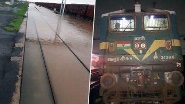 गुजरात में बारिश का कहर, अहमदाबाद और राजकोट में पटरियां पानी में डूबी, पश्चिम रेलवे ने रद्द की ये ट्रेनें