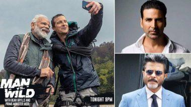 Man vs Wild शो में पीएम मोदी को देखने के लिए बेहद उत्सुक हैं अक्षय कुमार और अनिल कपूर समेत बॉलीवुड के ये सितारे