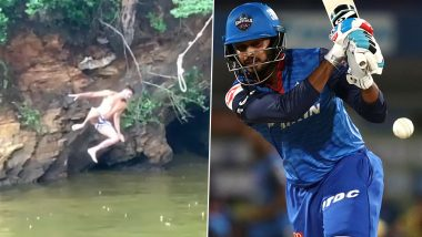 IND vs WI 3rd ODI 2019: तीसरे वनडे मुकाबले से पहले श्रेयस अय्यर बने 'टार्जन', देखें वीडियो
