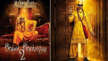 Bhool Bhulaiyaa 2: कार्तिक आर्यन का लुक आया सामने, 31 जुलाई को बड़े पर्दे पर रिलीज होगी फिल्म