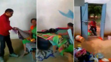 छत्तीसगढ़: छात्रावास अधीक्षिका के पति ने महिला सफाईकर्मी को 3 महीने की बच्ची सहित बेरहमी से घसीटा, देखें Video