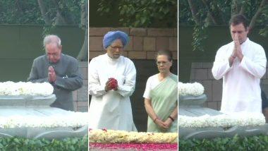 Rajiv Gandhi 75th Birth Anniversary: सोनिया गांधी, प्रणब मुखर्जी, मनमोहन सिंह, पीएम मोदी ने दी श्रद्धांजलि