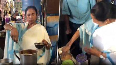 पश्चिम बंगाल की मुख्यमंत्री ममता बनर्जी ने आम लोगों के लिए बनाई चाय, देखें Video