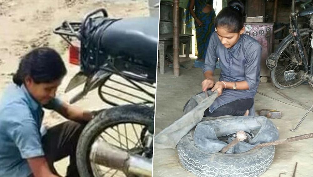 बिहार: बेटियों के जन्म पर रिश्तेदारों ने मारा था ताना, आज पंक्चर ठीक कर परिवार चला रहीं 2 बहनें