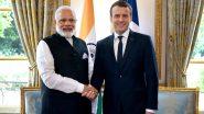 भारत के समर्थन में खुलकर सामने आए फ्रांस के राष्ट्रपति इमैनुअल मैक्रों, कहा- आतंक से मिलकर लड़ेंगे, कश्मीर मुद्दे पर तीसरा पक्ष ना दे दखल