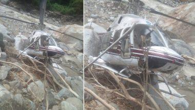 उत्तराखंड: उत्तरकाशी के टिकोची में हेलीकॉप्टर क्रैश, तीन दिन में दूसरा हादसा