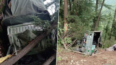 हिमाचल प्रदेश: शिमला में सेना का ट्रक खाई में गिरा, एक जवान की मौत- 3 घायल