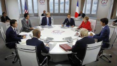 G7-सम्मेलन में ईरान, अमेजन आग का मुद्दा छाया, लेकिन खुद की एकता पर भी उठे सवाल
