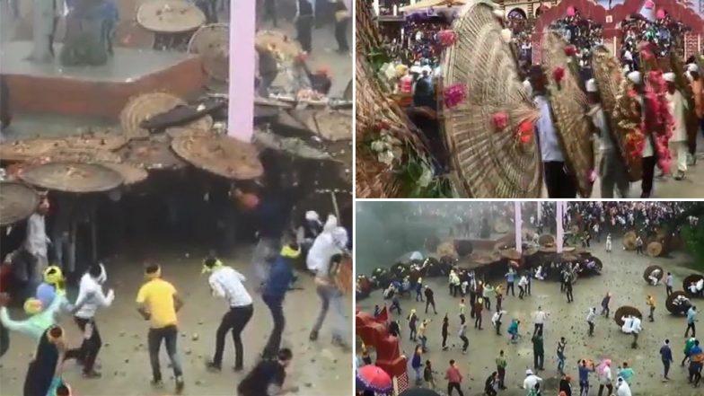 रक्षाबंधन के मौके पर चंपावत में हुआ 'बग्वाल' उत्सव, पत्थरबाजी में 120 से अधिक लोग हुए घायल