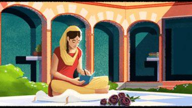 गूगल ने डूडल बनाकर महान साहित्यकार अमृता प्रीतम को उनके 100वें जन्मदिन पर किया याद, विभाजन के दर्द का आइना हैं इनकी रचनाएं