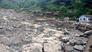 हिमाचल प्रदेश: भूस्खलन के कारण सड़कों पर आवागमन बंद, चंडीगढ़-मनाली राजमार्ग पर आवाजाही प्रभावित