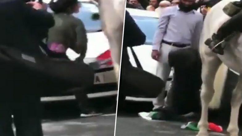 भारतीय पत्रकार पूनम जोशी की दिलेरी देख आप भी करेंगे सलाम, लंदन में तिरंगे का अपमान कर रहे थे पाकिस्तानी, ऐसे दिया जवाब (देखें विडियो)