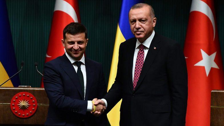 यूक्रेन के राष्ट्रपति वोलोडिमिर जेलेंस्की और तुर्की के समकक्ष रेसेप तैयप एर्दोगन करेंगे उच्च स्तरीय रणनीतिक बैठक