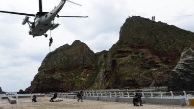 दक्षिण कोरिया की नौसेना ने शुरू किया 2 दिवसीय युद्धाभ्यास, वायु सेना और थल सेना भी लेगी भाग