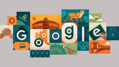 India Independence Day 2019 Google Doodle: गूगल ने डूडल के जरिए अनोखे अंदाज में दी स्वतंत्रता दिवस की बधाई
