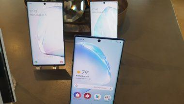 सैमसंग गैलेक्सी ने की नोट 10 और नोट 10 प्लस लांच करने की घोषणा, उपभोक्ता 22 अगस्त तक कर सकते हैं प्री-बुकिंग