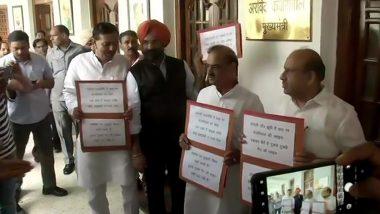 दिल्ली विधानसभा में धारा 370 को लेकर मचा संग्राम, बीजेपी विधायक सस्पेंड- अकाली दल भी भिड़ा