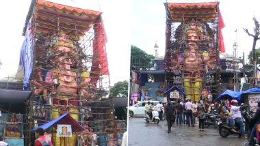 Ganesh Chaturthi 2019: हैदराबाद में विराजेंगे सबसे ऊंचे 61 फीट के गणपति, देखें तस्वीरें