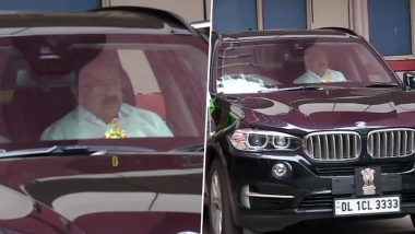 अरुण जेटली की तबीयत जानने AIIMS पहुंचे उपराष्ट्रपति वेंकैया नायडू, डॉक्टरों ने दिया अपडेट